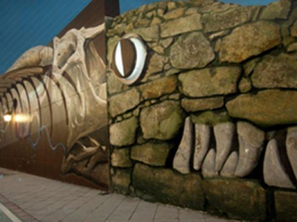 Escultura del Lagarto de Jaén