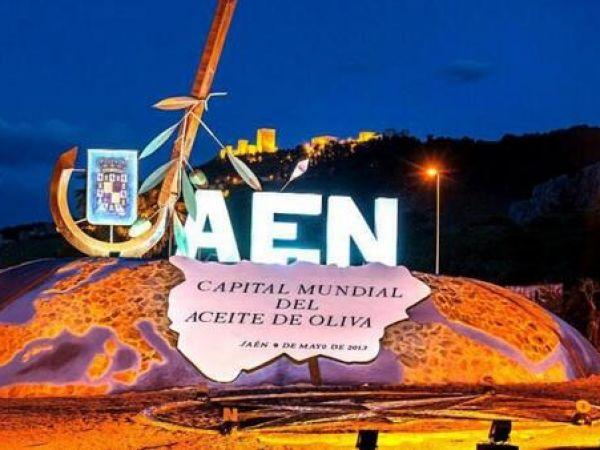 Monumento a Jaén Capital Mundial del Aceite de Oliva